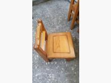 [9成新] 實木兒童椅/多個其它桌椅無破損有使用痕跡