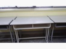 [9成新] 兒童書桌鐵製/原價2250元書桌/椅無破損有使用痕跡