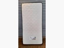 [8成新] 白色3尺獨立筒床墊單人床墊有輕微破損