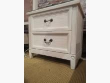 [95成新] 浪漫公主木紋雙抽邊櫃床頭櫃近乎全新
