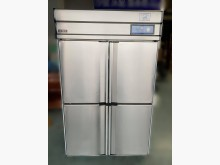 [8成新] RE6062*營業用4門全冷凍冰箱有輕微破損