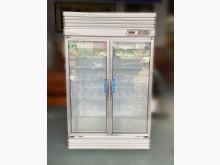 [8成新] RE6061*玻璃雙門營業用冰箱冰箱有輕微破損