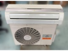 [8成新] AC5306*日立變頻1.2噸分離式冷氣有輕微破損