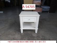 [8成新] A54705 半實木 床頭櫃床頭櫃有輕微破損