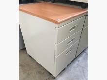 [9成新] (二手)木紋檯面活動櫃(有鑰匙)辦公櫥櫃無破損有使用痕跡