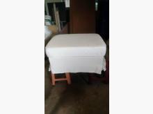 [9成新] 白色收納布腳凳(可拆洗)其它沙發無破損有使用痕跡