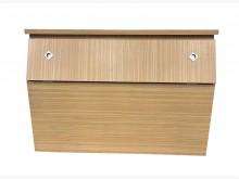 [8成新] B61604*白橡單人床頭櫃*床頭櫃有輕微破損