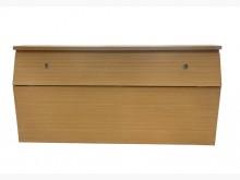 [9成新] B61509*白橡雙人床頭櫃*床頭櫃無破損有使用痕跡