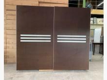[95成新] 胡桃8x7尺衣櫃/雙人衣櫥/衣櫃衣櫃/衣櫥近乎全新