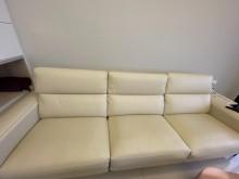 [95成新] 半牛皮電動沙發雙人沙發近乎全新