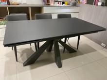 [95成新] 詩肯摺疊餐桌餐桌近乎全新