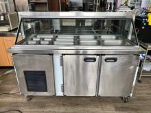 [95成新] 吉田二手傢俱❤5尺沙拉吧冷藏冰箱冰箱近乎全新