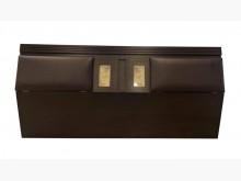 [8成新] B61517*胡桃雙人加大床頭櫃床頭櫃有輕微破損