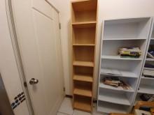 [9成新] Ikea書櫃/木頭色書櫃/書架無破損有使用痕跡