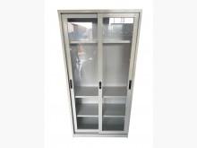[8成新] C6034*3尺玻璃公文櫃*辦公櫥櫃有輕微破損