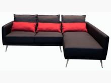 [全新] LA1101Di全新黑紅L型沙發L型沙發全新