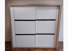 [8成新] 七尺烤白庫存滑門衣櫃衣櫃/衣櫥有輕微破損