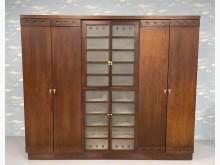 [9成新] B62709*胡桃木大衣櫃*衣櫃/衣櫥無破損有使用痕跡