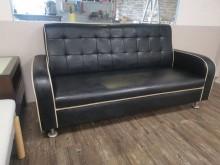 [9成新] 都會時尚高級透氣三人皮沙發雙人沙發無破損有使用痕跡