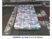 [8成新] 單人加大床墊 3.5尺彈簧床單人床墊有輕微破損