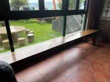 [9成新] 實木長椅其它桌椅無破損有使用痕跡