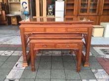 [95成新] 花梨木佛桌  5尺上下座神桌組神桌近乎全新