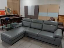 [95成新] 展示品出清L型透氣皮沙發組L型沙發近乎全新