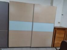 [9成新] 九成新外掛式木心板7尺衣櫃衣櫃/衣櫥無破損有使用痕跡