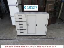 [8成新] K19127 公文櫃 零件櫃辦公櫥櫃有輕微破損