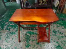[9成新] 3尺實木簡易型電腦桌*電腦桌*書桌/椅無破損有使用痕跡