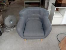 [95成新] 深灰單人沙發椅H03950單人沙發近乎全新