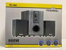 [8成新] T.C.STAR三件式校級喇叭電腦產品有輕微破損