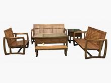 [全新] HM112CG*柚木123沙發組木製沙發全新