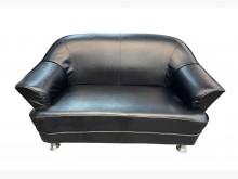 [8成新] A70423*2人皮沙發*雙人沙發有輕微破損
