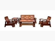 [8成新] A70421*113木沙發組*木製沙發有輕微破損