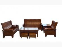 [9成新] ZH62301*樟木123+茶几木製沙發無破損有使用痕跡