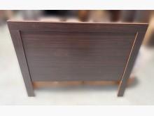 [9成新] A7183*胡桃3.5尺床頭片床頭櫃無破損有使用痕跡