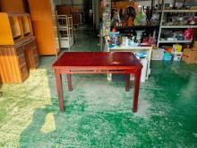[7成新及以下] 合運二手傢俱~實木餐桌.簡餐桌餐桌有明顯破損