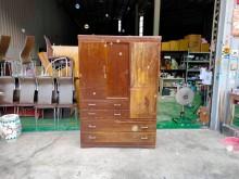 合運二手傢俱~古早味衣櫃衣櫃/衣櫥有明顯破損