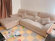 [9成新] 美式坐臥多功能L型沙發(可拆洗)L型沙發無破損有使用痕跡