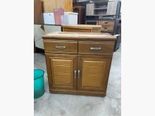 [9成新] 大慶二手家具 兩抽拉門收納櫃收納櫃無破損有使用痕跡