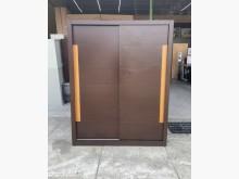 [95成新] 5尺胡桃衣櫃/推門衣櫃/胡桃衣櫥衣櫃/衣櫥近乎全新