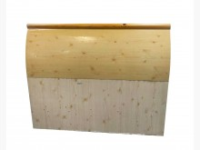 [7成新及以下] B72210*松木單人床頭片*床頭櫃有明顯破損