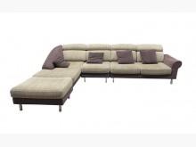 [9成新] A72019*米白色L型布沙發*L型沙發無破損有使用痕跡
