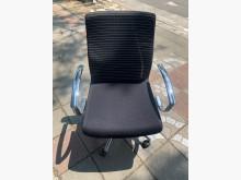 [9成新] 黑白線條網布鐵腳電腦椅(可升降)電腦桌/椅無破損有使用痕跡