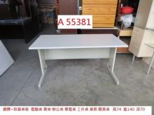 [9成新] A55381 140 電腦桌電腦桌/椅無破損有使用痕跡