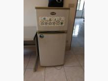 [9成新] 大同雙門冰箱 TR250FC冰箱無破損有使用痕跡