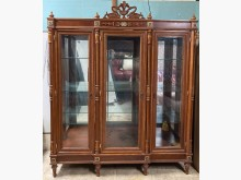 [9成新] 二手.歐式古典.六尺.玻璃展示櫃其它櫥櫃無破損有使用痕跡
