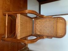 [9成新] 高背藤椅其它桌椅無破損有使用痕跡