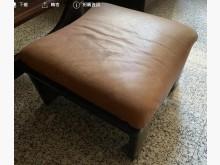 [9成新] 純牛皮沙發椅單人沙發無破損有使用痕跡